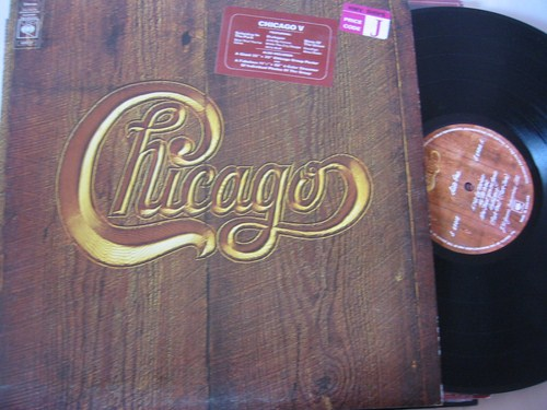 Chicago - V - CBS with Inserts - UK Pressing 1972