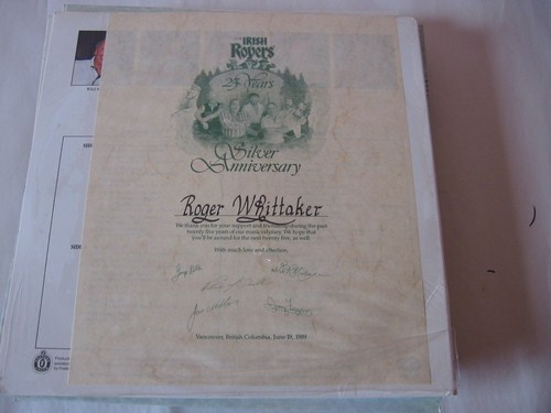 The Irish Rovers - Silver Anniversary - Sealed & Certificate