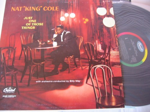 Nat King Cole - Just one of those things - Capitol Japan