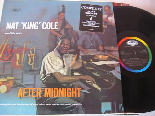 Nat King Cole - After Midnight - Capitol UK 1985