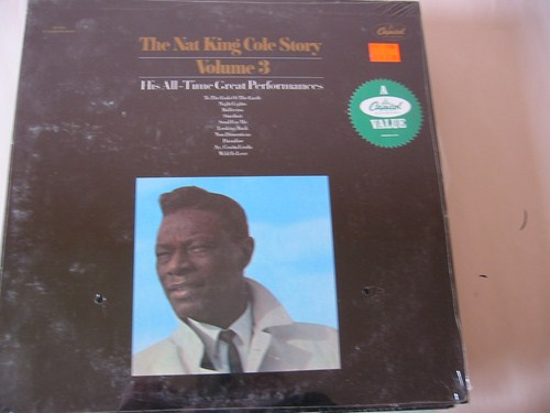 Nat King Cole - Story Vol 3 - Capitol USA Sealed