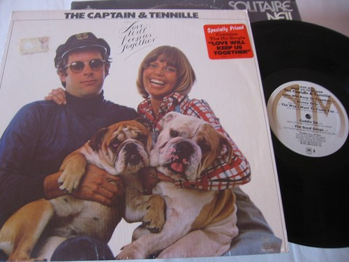 Captain & Tennille - Love will keep us together - A & M 1975