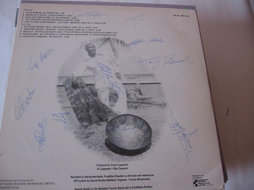 Barbados Steel Orchestra - Live - Signed - Whirl Records