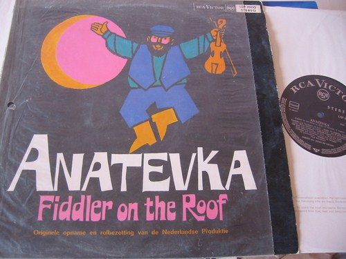 Anatevka - Fiddler on the Roof - RCA Holland