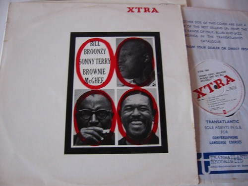 Bill Broonzy , Sonny Terry & Brownie McGhee - XTRA LP