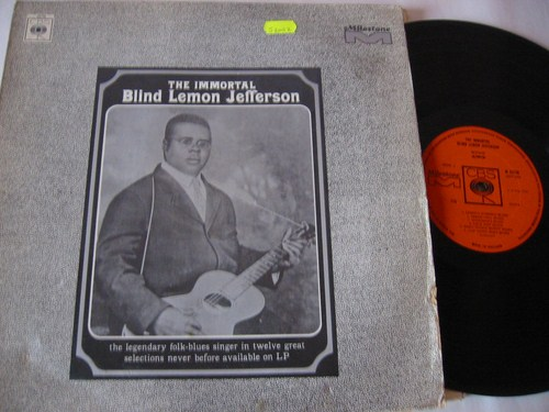 Blind Lemon Jefferson - The Immortal - CBS UK