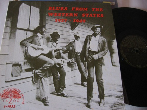 Various - Blues from Western States - 1927 - 1949 - Yazoo