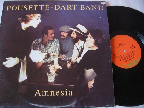 Pousette Dart Band - Amnesia - Capitol UK