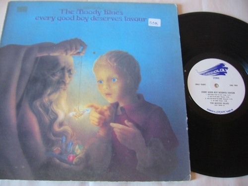 MOODY BLUES - EVERY GOOD BOY - LONDON { AF 538
