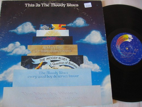 MOODY BLUES - THIS IS - THRESHOLD 2LP { AF 552