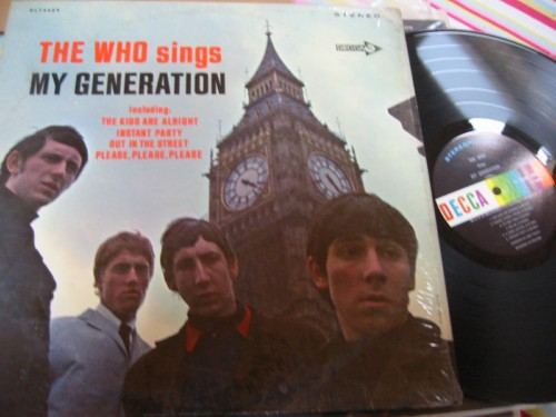 THE WHO - MY GENERATION - DECCA IN SHRINK { AF 112