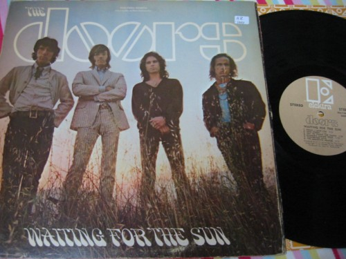 THE DOORS - WAITING FOR THE SUN - ELEKTRA USA - AF 93
