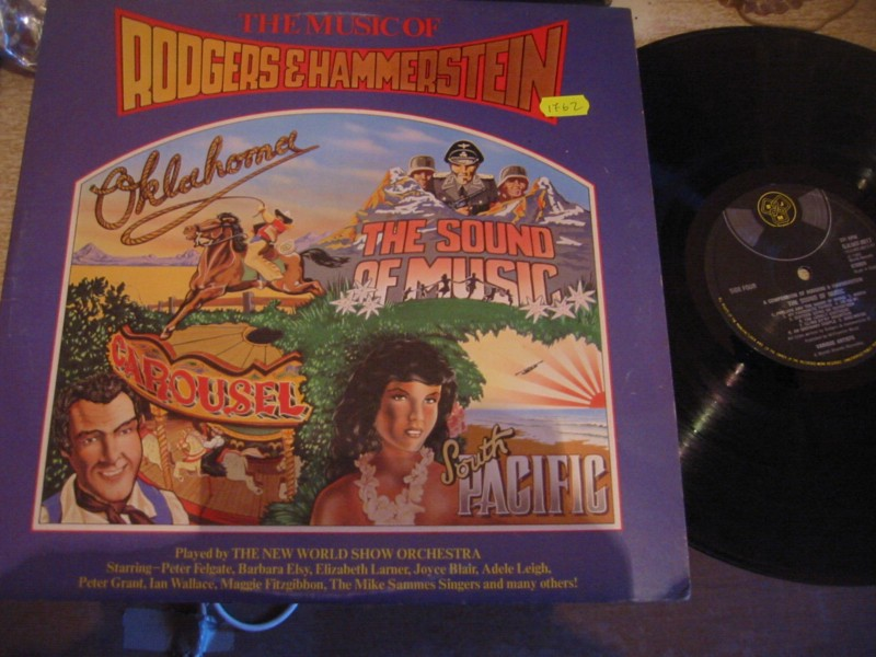 RODGERS & HAMMERSTEIN - THE MUSIC OF - 2LP DJM 1975