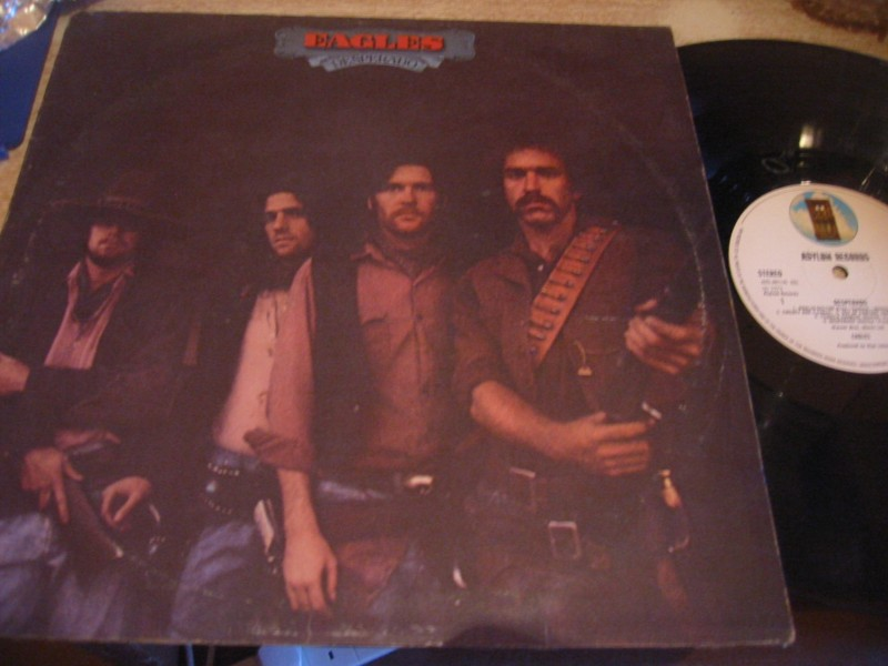 The Eagles - DESPERADO - ASYLUM RECORDS UK 1973