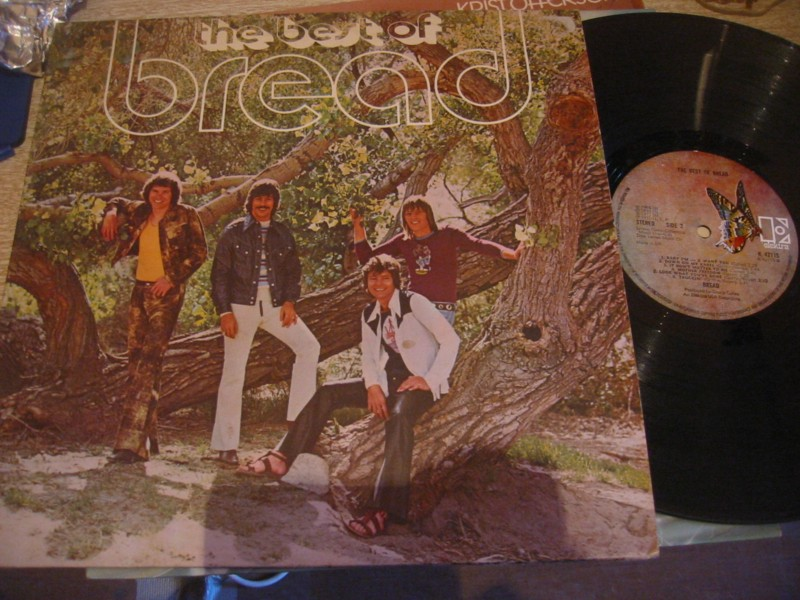 BREAD - THE BEST OF - ELEKTRA UK 1972