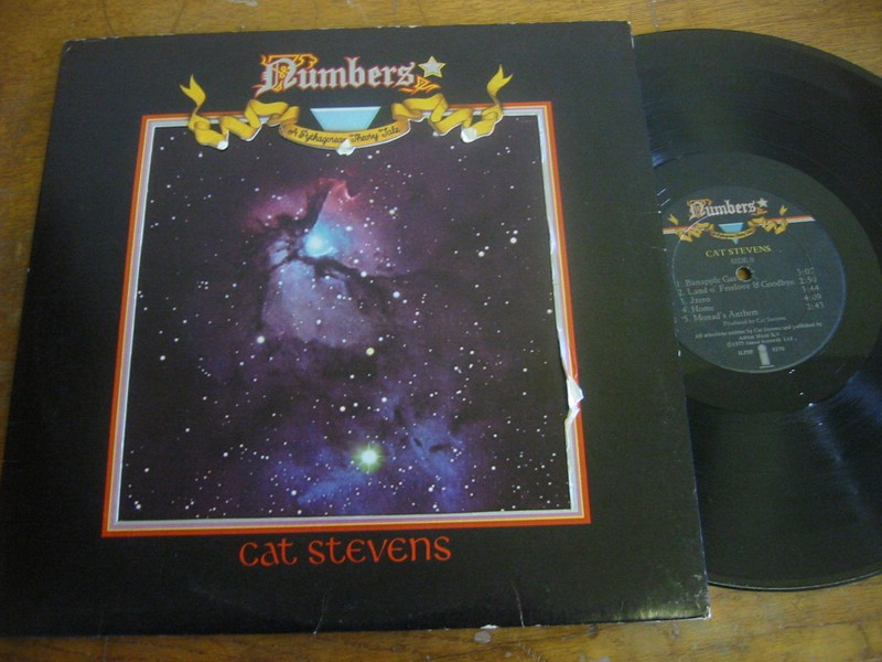 CAT STEVENS - NUMBERS - ISLAND UK 1975