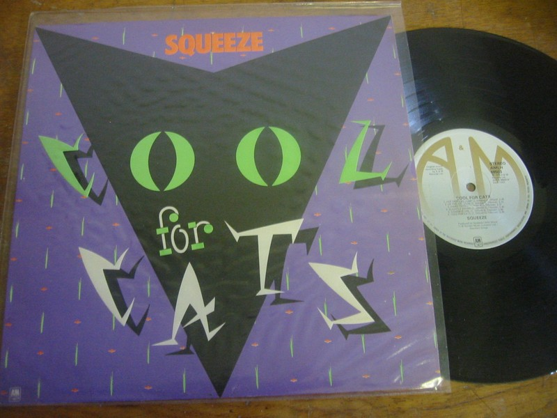 SQUEEZE - COOL FOR CATS - A & M UK 1979