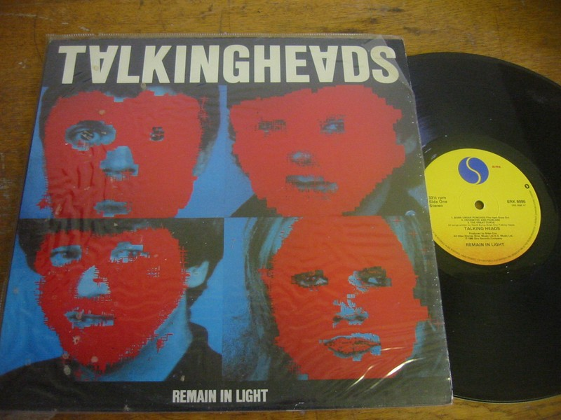 TALKING HEADS - REMAIN IN LIGHT - SIRE UK 1980