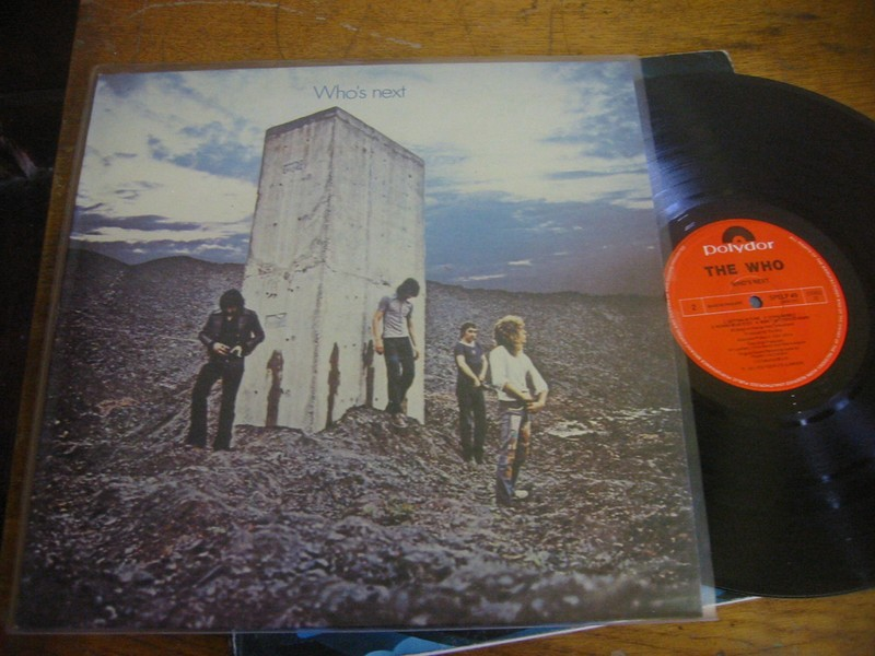 THE WHO - WHO'S NEXT - POLYDOR UK 1971
