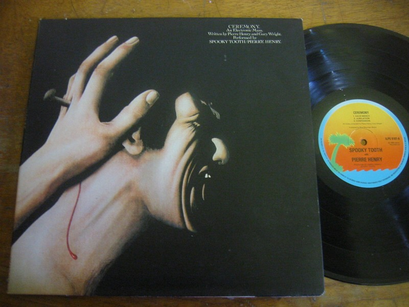 SPOOKY TOOTH / PIERRE HENRY - CERMONY ISLAND UK 1970s
