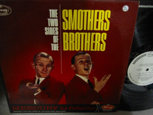 SMOTHERS BROTHERS - 2 SIDES OF MERCURY PROMO { AF 137