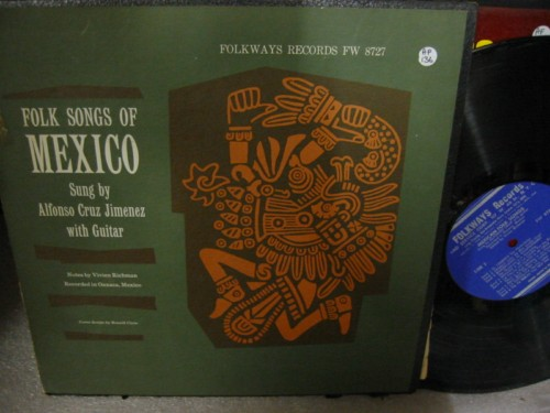 ALFONSO CRUZ JIMENEZ - MEXICO FOLK SONGS - FOLKWAYS