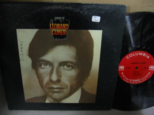 LEONARD COHEN - SONGS OF - COLUMBIA 2 EYE { AF 164