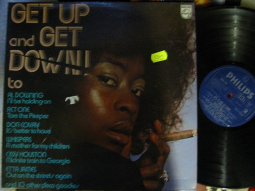 VARIOUS - GET UP & DOWN - DISCO - PHILIPS 1304