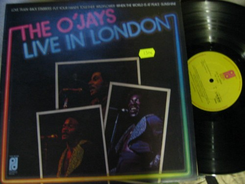 THE O'JAYS - LIVE IN LONDON - PHILADELPHIA 1306
