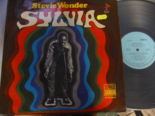 STEVIE WONDER - SYLVIA - BRAZIL LP - 1307
