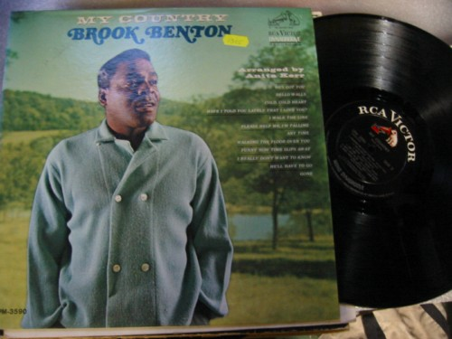 BROOK BENTON - MY COUNTRY - RCA 1315