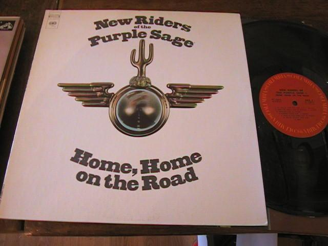 NEW RIDERS PURPLE SAGE - HOME HOME - COLUMBIA - AF 12