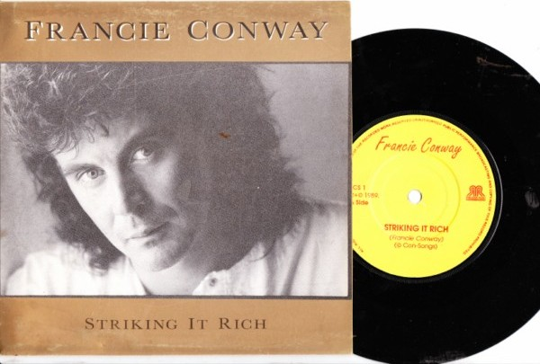 FRANCIE CONWAY - STRIKING IT RICH - 1989