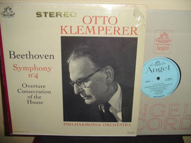 BEETHOVEN - NO 4 - KLEMPERER - ANGEL