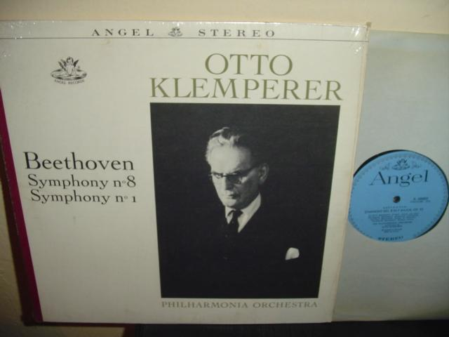 BEETHOVEN - NO 8 & 1 - KLEMPERER - ANGEL
