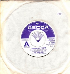 The Bachelors - Diamonds are Forever - Decca Demo 1971