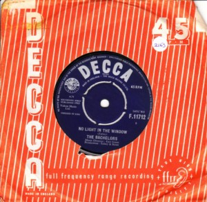 The Bachelors - Whispering - Decca IRISH 1963