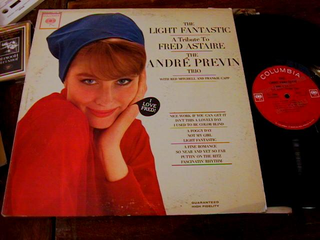 ANDRE PREVIN - FRED ASTAIRE - COLUMBIA PROMO { 461
