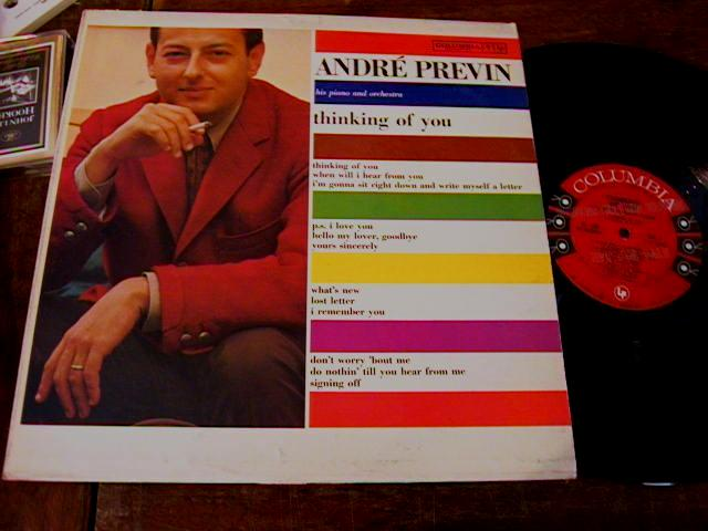ANDRE PREVIN - THINKING OF YOU - COLUMBIA PROMO { 459