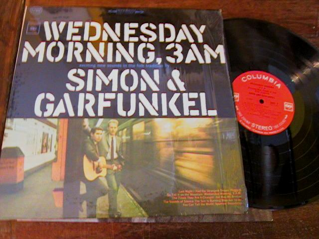 SIMON GARFUNKEL - WEDNSDAY MORNING 3 - COLUMBIA { 176