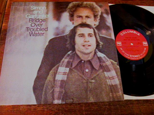 SIMON GARFUNKEL - BRIDGE TROUBLE WATER - COLUMBIA { 175