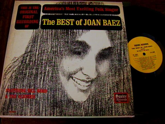 JOAN BAEZ - BEST OF - SQUIRE RECORDS { AF 170