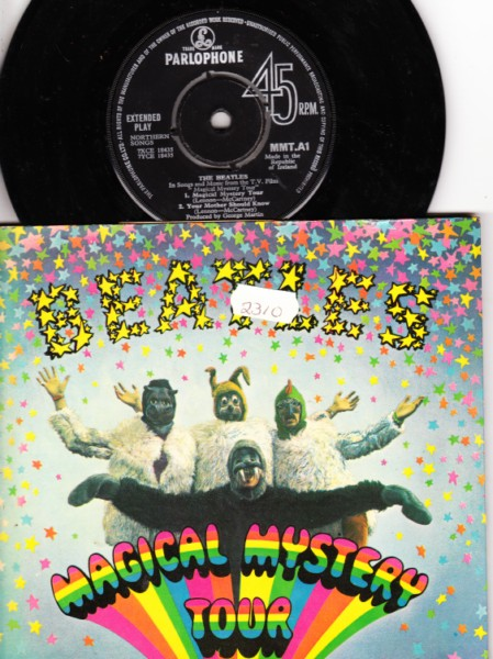 THE BEATLES - MAGICAL MYSTERY - 2 DISCS & BOOK - IRISH