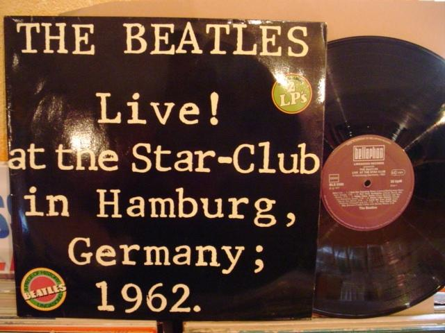 THE BEATLES - LIVE HAMBURG 2 LP - BELLAPHON AF 1391