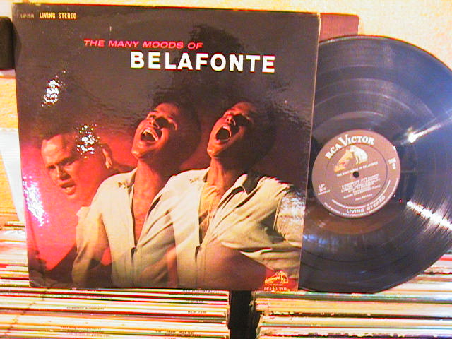HARRY BELAFONTE - MANY MOODS OF - RCA LSP - M 41 & 34