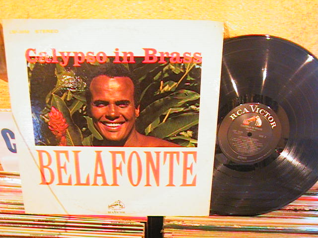 HARRY BELAFONTE - CALYPSO IN BRASS - RCA LSP - M 37