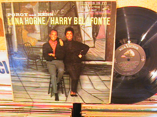 HARRY BELAFONTE & LENA HORNS - PORGY BESS - RCA LOP - M 36