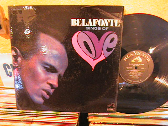 HARRY BELAFONTE - SINGS OF LOVE - RCA LSP - M 35