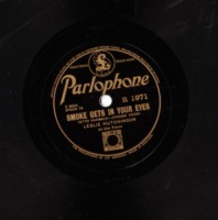 LESLIE HUTCHINSON - I SAW STARS - PARLOPHONE 78 RPM