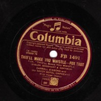 CARROLL GIBBONS - MAKE YOU WHISTLE - COLUMBIA - 78 RPM
